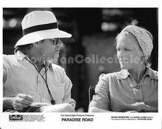 Paradise Road photo director Bruce Beresford movie star Glenn Close