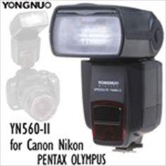 (YONGNUO) YN560-II Flash Speedlite with LCD Screen for Canon Nikon PENTAX OLYMPUS