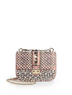 Valentino - Glamlock Small Flap Shoulder Bag