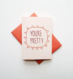 No commitments, just a compliment. #etsy #valentine