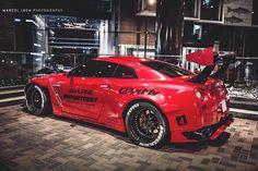 Visit The MACHINE Shop Café... ❤ Best of Nissan @ MACHINE ❤ (LB★Performance Nissan GT-R)