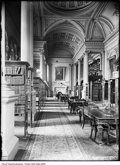 What libraries used to look like in Toronto