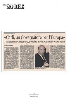 sole24 07/05/2013 Premio Carli - Gregorio Fogliani via @SlideShare