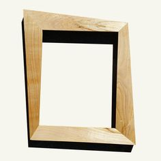 trapezoid mid century modern picture frame made with maple by everythingmodern on etsy - Modern Picture Frame