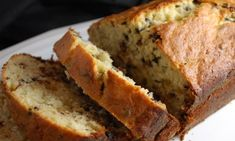 Healthy banana-choc-chip-bread- I omit chocolate chips out of preference