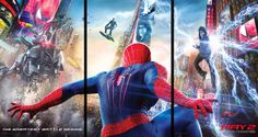 The Amazing Spider-Man 2 | Triptych Poster