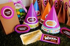 Willy Wonka and the Chocolate Factory Birthday Party Ideas | Photo 1 of 13 | Catch My Party