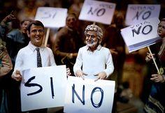 Renzi Grillo referendum presepe