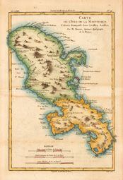 West Indies Map 1771