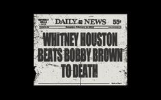 Whitney Houston beats Bobby Brown to death....Order this shirt here: http://su.pr/1uJNoE