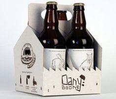 Packaging creativo en la cerveza. visto en puromarketing.com por @carlos_zampa