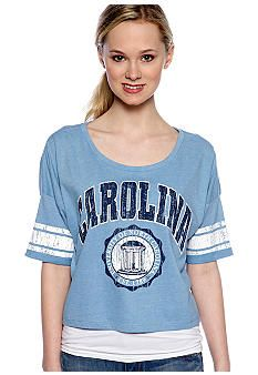 b8642e33ea8 Pressbox UNC Super Soft Crew Neck Tee  belk  UNC  collegiate