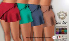 Sirian Skirt With Texture HUD Teleport Hub Group Gift by Nala Design