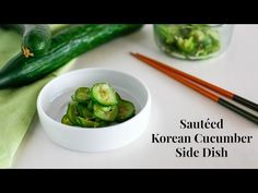 Sautéed Korean Cucumber Side Dish - My Korean Kitchen