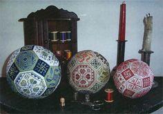 """Милые сердцу штучки: рукоделие, декор и многое другое: Вышивка крестом: """"Квакерский мячик"""" (Quaker Ball)"""