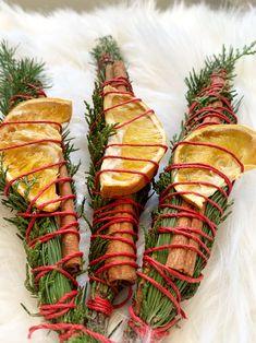 Christmas Tree Scent, Christmas Holiday, Zombie Christmas, Halloween, Scent Sticks, Altar Decorations, Sabbats, Smudge Sticks, Winter Solstice