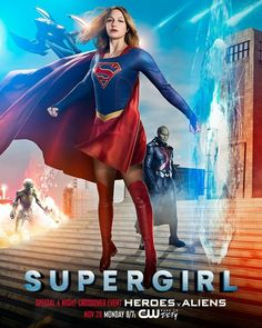 New Supergirl Heroes v Aliens: The Dominators Preview