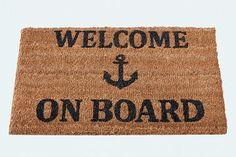 Welcome on Board - wycieraczka do butów