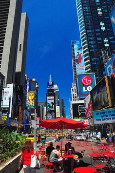 Colorful Times Square!