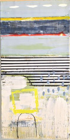 Amy Weil Encaustic on wood