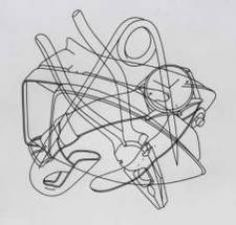 By Michael Craig Martin How To Make Drawing, Still Life Drawing, Contour Line Drawing, Michael Craig, Observational Drawing, Object Drawing, Drawing Studies, Everyday Objects, Everyday Items