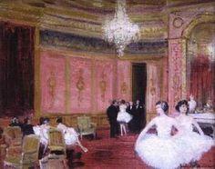 Jules-René Hervé - Danseuses au salon