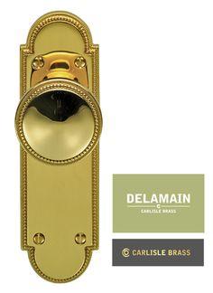 Delamain plain mortice knob | Delamain door knobs | Pinterest | Door ...