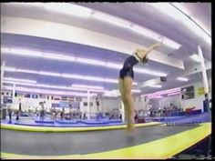 Gymnastics is beauty, grace, pain, and strength.  This video shows it all. I just love it!!