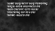 HOW FAST DO YOU NEED $$$? http://billions1.wixsite.com/quickfastfundingnow/merchant-cash-advance