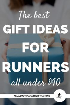 These are some of the best marathon gifts for the runner from a runner who knows what a runner loves! Running Gifts, Running Race, Running Workouts, Gifts For Marathon Runners, Gifts For Runners, Half Marathon Training Plan, Marathon Running, Race Training, Training Tips