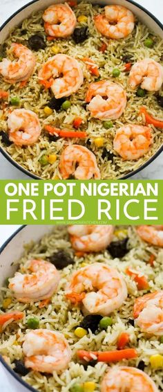 This super-delicious one-pot Nigerian fried rice recipe will fill your belly with warmth and flavor! Enjoy this meal during special occasions, dinner or lunch.