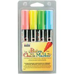 Bistro Chalk Marker Set, 4/pkg