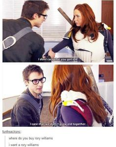 i want a rory williams...