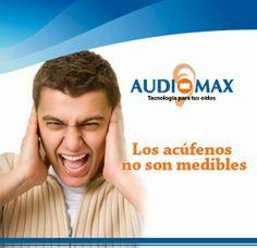 Audiomax: LOS ACÚFENOS NO SON MEDIBLES. AUDÍFONOS MEDICADOS