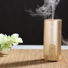 Newest Air Humidifier electric Aroma Diffuser Aluminium Alloy 5W ...