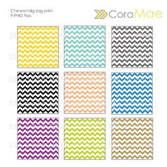 Cora Mae Design: Free Chevron Digital Papers