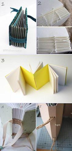 5 façons de relier un livre