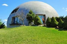 This $400K Monolithic Dome Home Is Also a B&B