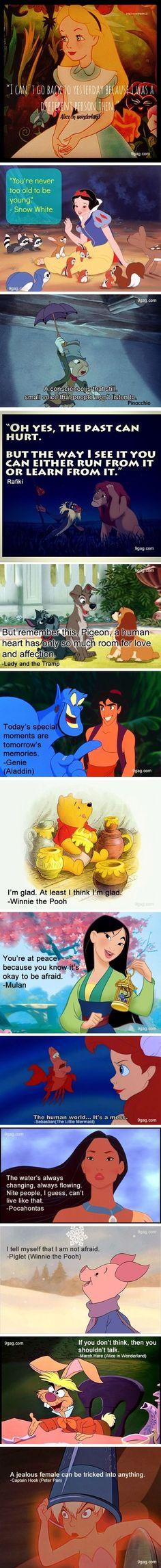 Aladdin and Winnie the Pooh
