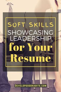 No matter the size of the company or business you're applying to, you will eventually encounter a situation requiring leadership skills. Leadership skills are more important if you're looking for a promotion or even a career change.    Soft Skills Showcasing Leadership for Your Resume #softskills #resume Leadership Skill, Women In Leadership, Leadership Roles, Work Success, Career Success, Career Change, List Of Skills, Difficult Conversations, Business Advice