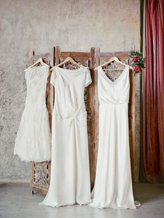 Stylish white wedding dresses | Ksenia Milushkina Photography | see more on: http://burnettsboards.com/2014/07/editorial-beautiful-trends-floral-design/