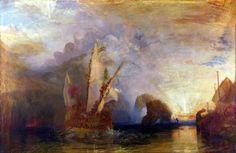Ulysses deriding Polyphemus. 1829. Joseph Mallord William Turner.