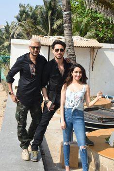 Shraddha Kapoor , Tiger Shroff and Riteish Deshmukh Bollywood Images, Bollywood Stars, Tiger Shroff, Shraddha Kapoor, Bollywood Actress, Hipster, Actresses, Actors, Photo And Video