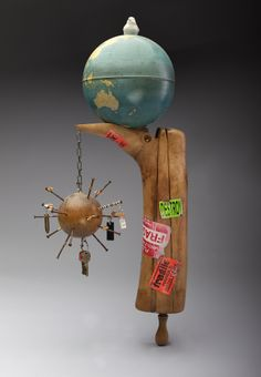 monica wyatt | Handle With Care, 28 x 8.5 x 15 inches, mixed media, price available upon request. http://monicawyatt.com