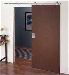Stainless-Steel Barn-Style Door Hardware - Hardware