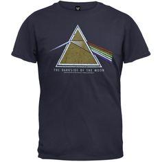 Pink Floyd - Dark Side Navy T-Shirt