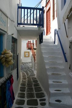 Labyrinth of Allyes, Mykonos, Greece