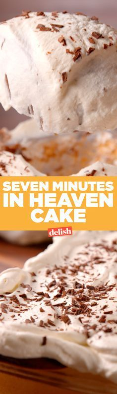 You'll want this Seven Minutes In Heaven Cake all to yourself. Get the recipe on Delish.com.