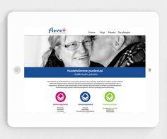 Aava kotihoiva- ja kiinteistöpalvelut: logon, yritysilmeen ja verkkosivuston suunnittelu ja toteutus.