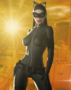 The Cat (TDKR) 'Sunset City' Series by DevilishlyCreative on DeviantArt